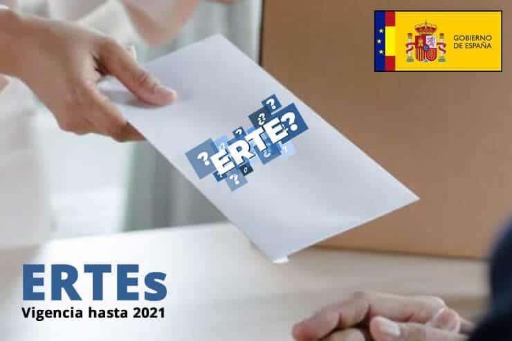 ertes prorroga su vigencias 2021